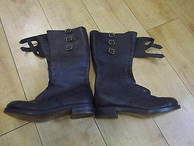 WW2    Dispatch Riders  Boots 8M  dated 1941