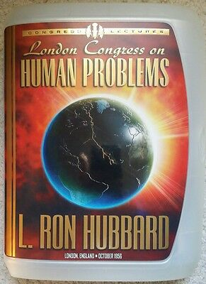 London Congress On Human Problems L Ron Hubbard Lectures CD's free ship