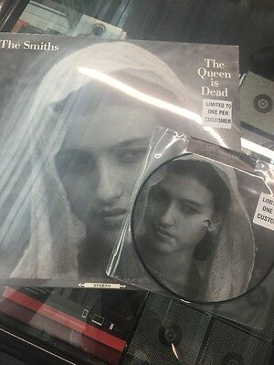 "The Smiths - The Queen Is Dead 7"" and 12"" vinyl 31st Anniversary Editions Sealed"
