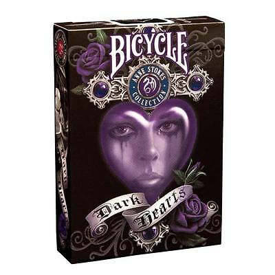 Anne Stokes Dark Hearts Bicycle Playing Cards New Sealed Deck
