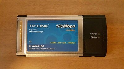 Adattatore wireless PCMCIA Tp-Link TL-WN610G