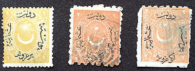 Ottoman-Turkey. Misc stamps 1868 to 1876