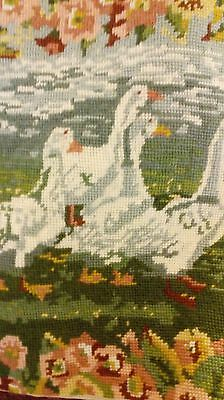 EHRMAN TAPESTRY GEESE BY ANN BLOCKLEY 1990 Completed