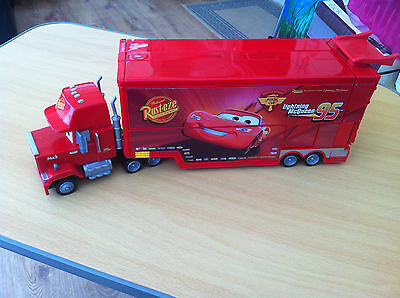 Disney Pixar Cars Rare Mac/mack Lorry Playset