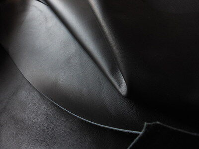 Leather  Hide Skin Black 15 Sq Ft Fire Ret Home Contract