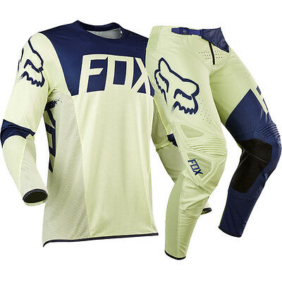 Completo Motocross Fox Flexair Libra Limited Edition Yellow Fluorescente 32 / L
