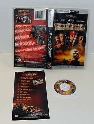 Pirates of the Caribbean The curse of the Black Pearl  Sony  PsP UMD Video