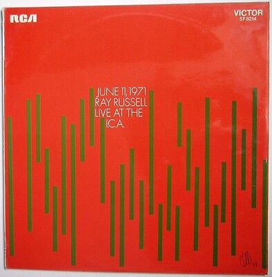 Ray Russell Live at the ICA rare jazz vinyl LP 1971 Stereo very good condition