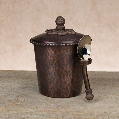 The GG Collection Hammered Ice Cream Bucket - Antique Copper