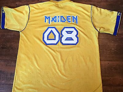 2008 Iron Maiden Football Shirt Top Jersey Adults XL Somewhere Back in Time
