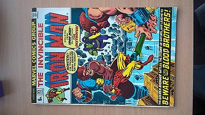 Iron Man #55 Vf Marvel Comic (Reduced To Clear)