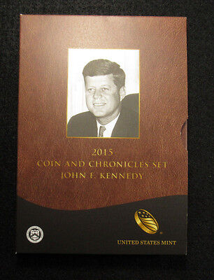 2015 Coin And Chronicles Set John F. Kennedy