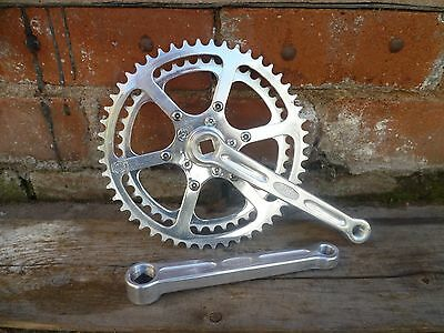 Vintage Rare Stronglight Early 60,s Marquee Deposee Crank/chainset.exc Condition