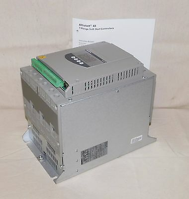 SCHNEIDER ELECTRIC ATS48C11Y Soft Start 3 Phase 110 A Output 208 to 600 V Output