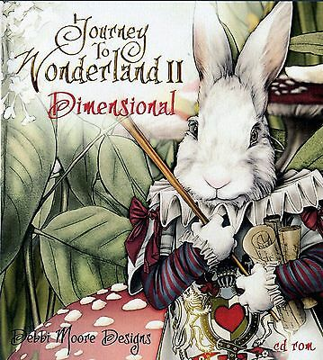 Debbi Moore Crafting - Journey To The Wonderland 2 Diamentional CD