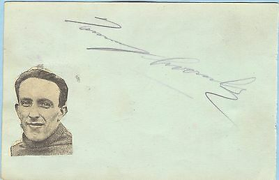 TOMMY CROOMBS 1920/30's WEST HAM, LEA BRIDGE & ENGLAND HAND SIGNED ALBUM PAGE