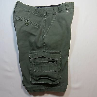 BSA Boy Scouts Of America Uniform Shorts Switchback Zip Off Green Size Youth 12