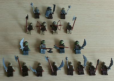 Lego Lord of the Rings Orc Army Builder. Orcs x19. New