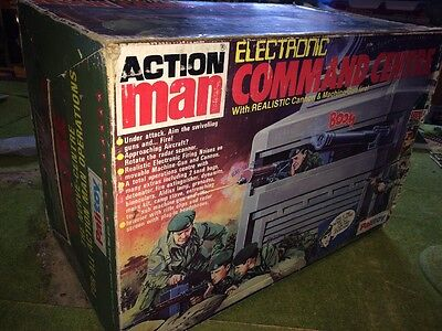 Vintage Action Man Boxed Rare Electronic Command Centre With Stars.