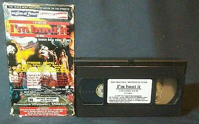 I'm Bout It: The Movie No Limit VHS MASTER P, SILKK THE SHOCKER,MACK 10,C MURDER