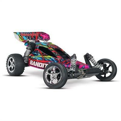 Traxxas Bandit: 1/10 Scale Off-Road Buggy with TQ 2.4GHz Radio System, Hawaiian