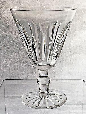 """Waterford Crystal Eileen claret wine glass - signed 5.25"""" tall"""