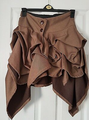 ladies steampunk style skirt size 10