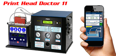 Print Head Doctor 11 with Mobile App Control, 2 DX5 Adapter, 6 Recovery Fluids