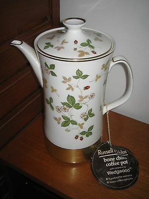 Wedgwood Wild Strawberry Russell Hobbs Automatic Electric Coffee Pot Unused With