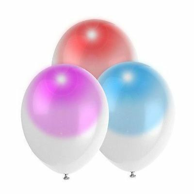 """12"""" Large Light Up LED Colour Changing Balloons Birthay Wedding Party Decoration"""