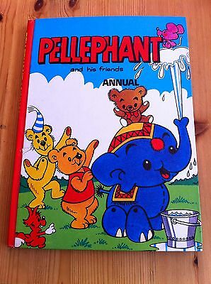 Pellephant & Friends Annual, Children's Vintage Book, Very Nice Condition