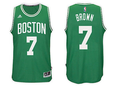 New ADIDAS NBA SWINGMAN JERSEY Boston Celtics #7 Jaylen Brown 7470 3HE MSRP $110
