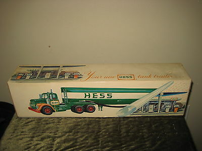 Vintage 1972 Hess Tanker Truck New In Original Box