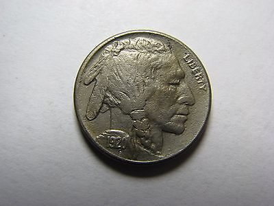 1920-S Buffalo Nickel AU Details