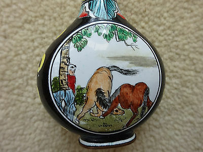 """chinese snuff or scent bottle2""""x11/2 approx size"""