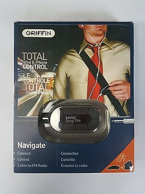 Griffin Navigate In-Line Remote Control iFM for iPod Touch 4G & iPhone 4 4S NEW