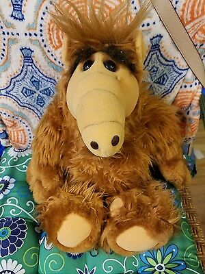 Vintage Alf plush doll 1986