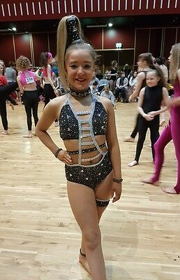 Freestyle Dance Solo Solo Costume U12 Fully Stoned