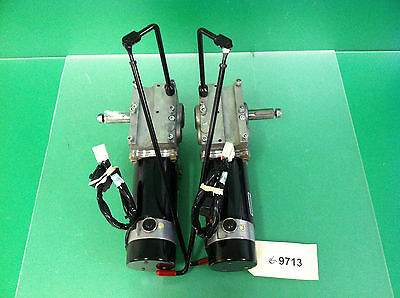 Left & Right  Motors / Gearboxes for Quickie Aspire Power Wheelchair  #9713