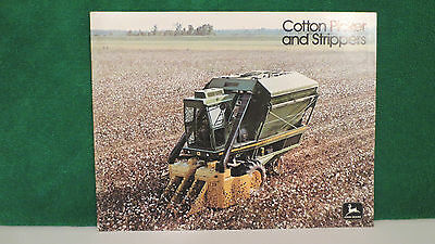 John Deere Cotton Picker and Strippers brochure from 1975, very nice.
