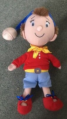 Noddy Play By Play Soft Plush Toy With Jingle Bell Hat 13'