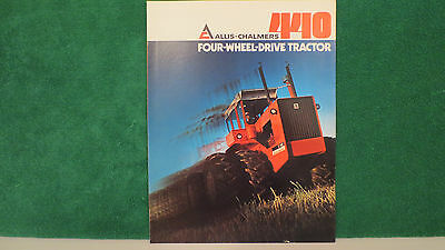 Allis Chalmers Tractor brochure on Model 440 4WD Tractor from 1974, very good.