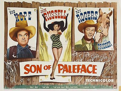 "Son of Paleface Bob Hope 16"" x 12"" Reproduction Movie Poster Photograph"