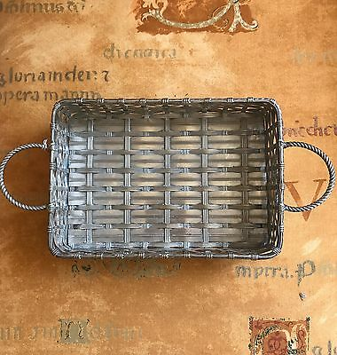 Antique WMF Art Nouveau Silver Plated Basket / Tray  c.1886-1903