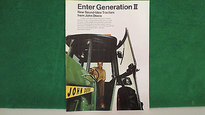 John Deere Tractor brochure on 4030, 4230, 4430, 4630 Introduction from 1972.