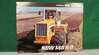 IHC  Model 4156 4WD Tractor brochure from 1969, very nice.