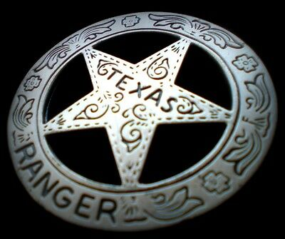 TEXAS Ranger 1900 circled star...obsolete USA COLLECTOR'S POLICE BADGE