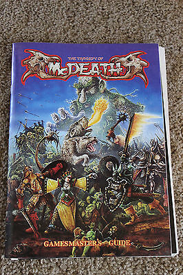 Gw *the Tragedy Of Mcdeath) Gamesmaster's Guide