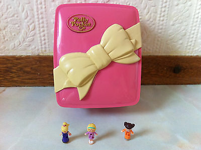polly pocket 1994 Starbright Dinner Party 100% complete Rare  Lights up