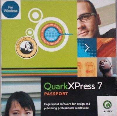 Quark Xpress 7 PASSPORT - UPGRADE For Windows